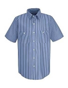 Short Sleeve Button Down Work Shirt