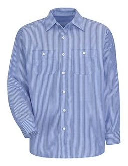 Long Sleeve Button Down Work Shirt
